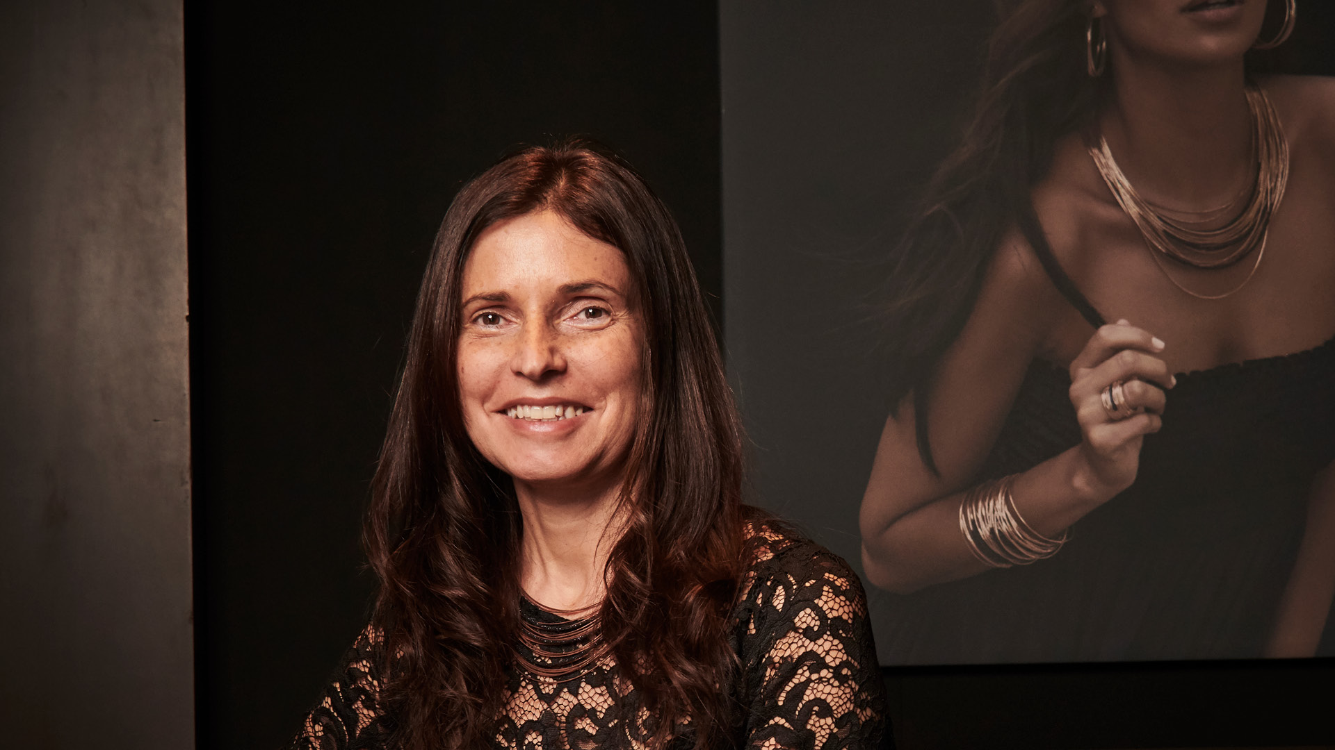 Chiara Carli, Creative Director and co-owner of the Italian jewellery brand Pesavento
