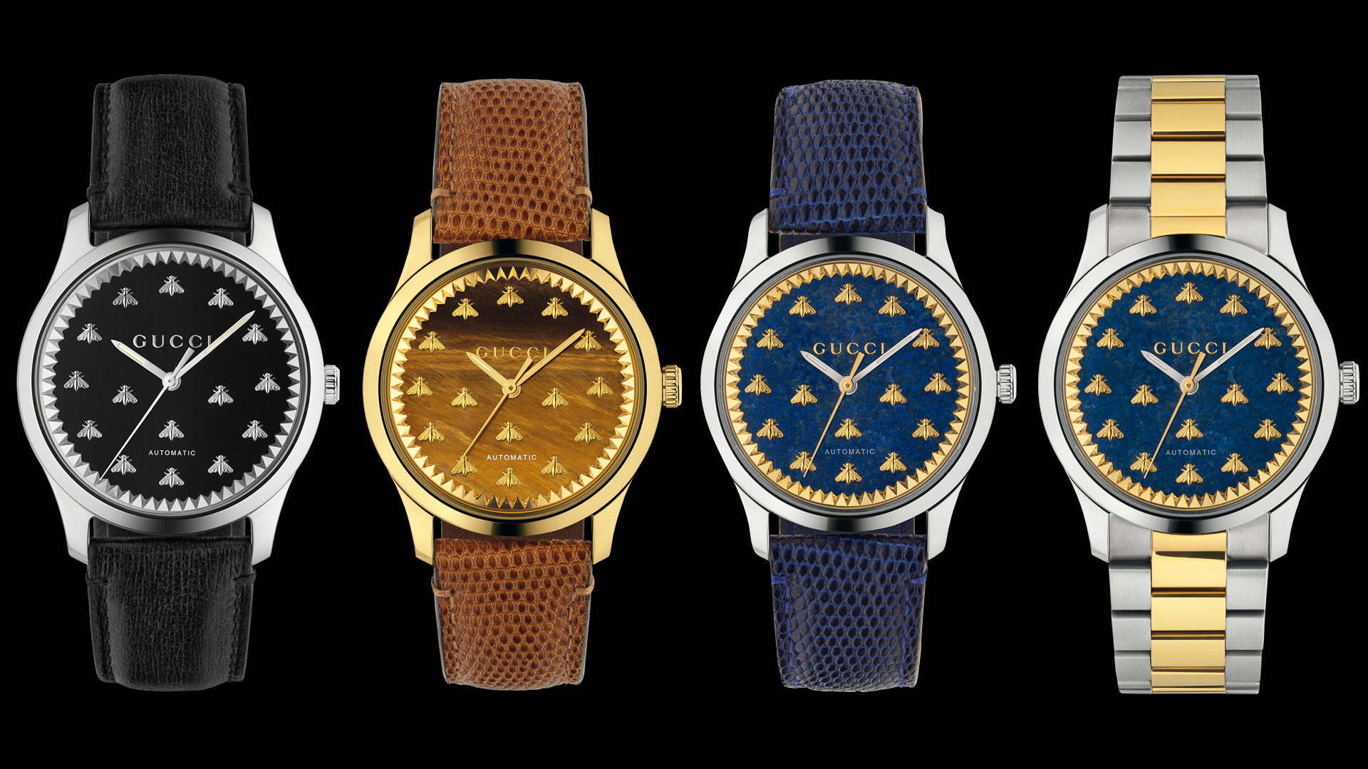 Gucci G-Timeless Automatic models