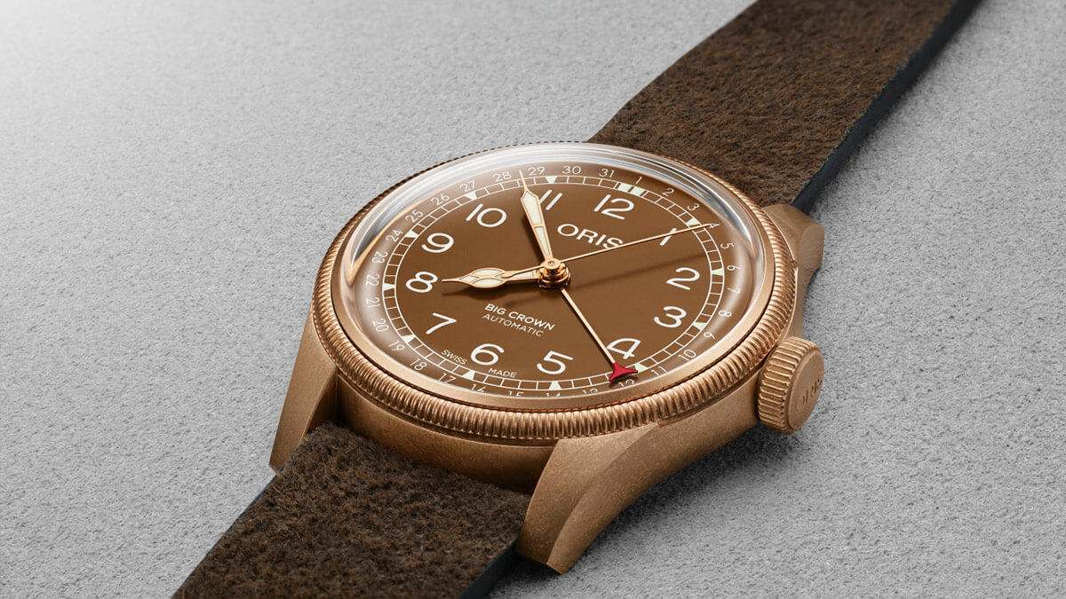 Baselworld - Oris Big Crown Bronze Pointer Date