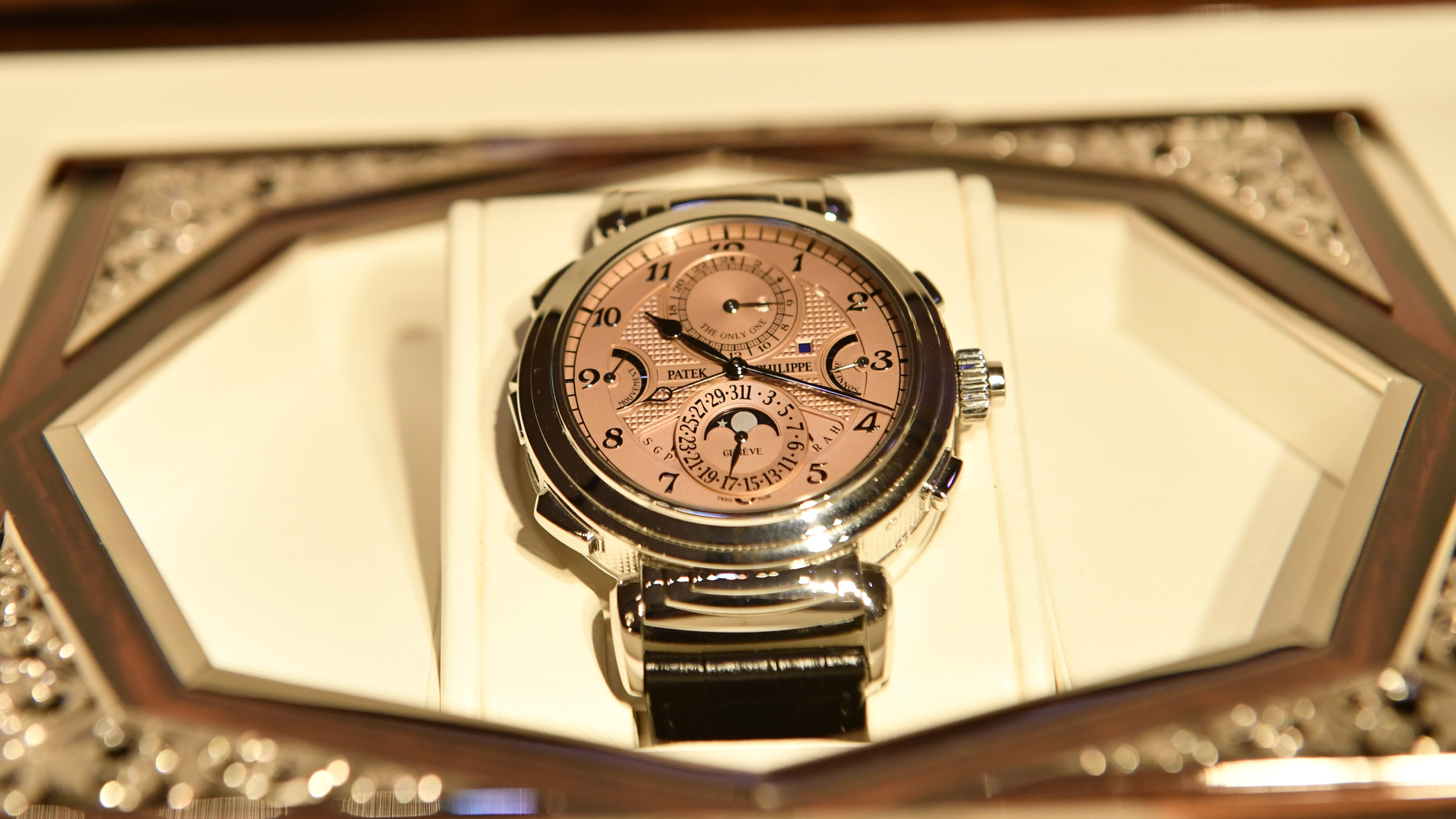 Picture of the Patek Philippe Watch sold at the Only Watch Auction in November 2019