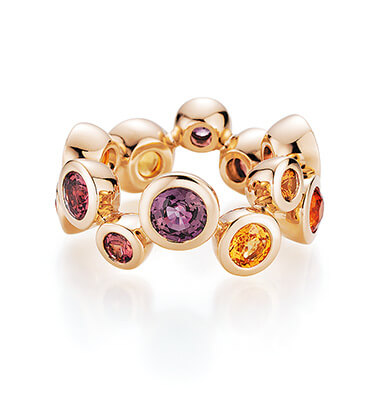 Baselworld Trends Colours of Autumn Jewellery - A. Odenwald Melody Ringutumn