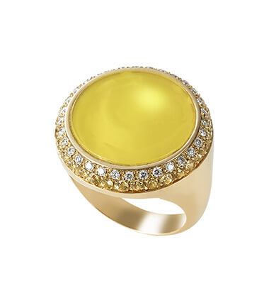 Baselworld Trends Colours of Autumn Jewellery - Piero Milano Capri Ring