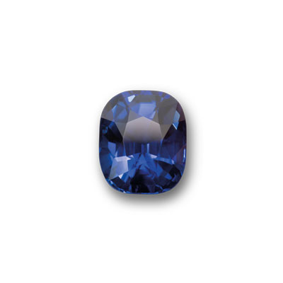 A 10.65 carat squarish-cushion cut royal blue Sri Lanka sapphire