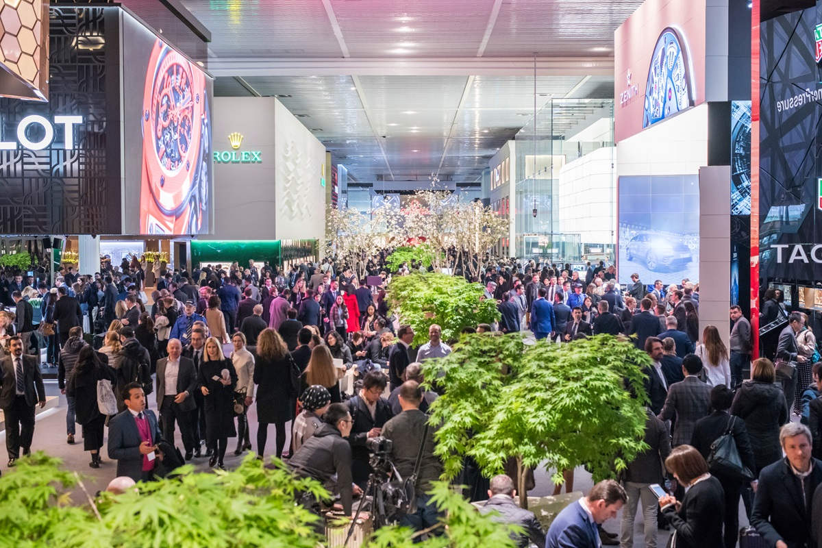 Picture of the Halls of Baselworld 2017