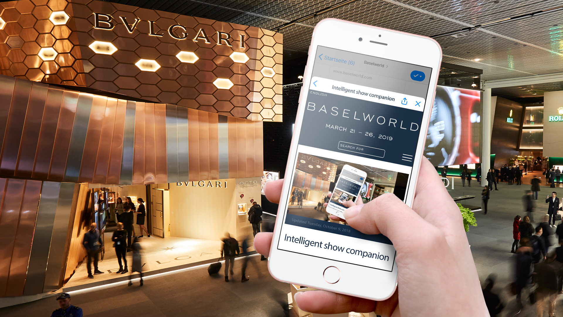 Baselworld Chatbot